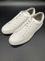Kenneth Cole Mens KMF9083LE White Liam Sneaker Shoes Lace Up Low Top Size 9