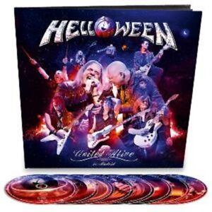 Helloween - United Alive - Ltd Edition 2Blu-ray/3DVD/3CD Earbook