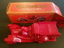 New Full Bottle Avon Fire Fighter 1910 Firetruck Wild Country After Shave 6 oz.