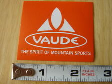 VAUDE Backpack STICKER Decal Orange