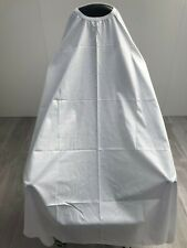 Barber Cape Gown White Salons Hairdressers Hair Cutting Premium Capes Gowns