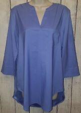 Womens Coldwater Creek Blouse Top Shirt Size Medium