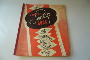 1950s/60s Vintage Sports Scrapbook