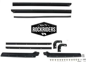 1987-1995 Jeep Wrangler Replacement Soft Top Body & Windshield Channel Hardware