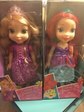 Disney Princess Rapunzel Toddler bambola Animator e Ariel Set Regalo di Natale Jakks