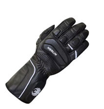 Merlin Nero Sport Motorcycle Leather Gloves Black Summer Spring Race Size Medium