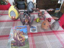 Mega Bloks 3 Dragons Darkcrown & Cirrussfire with eggs, 2 mini dragon eggs