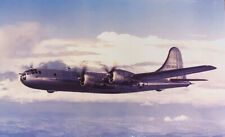 """Vintage Boeing B-29A Super-fortress Aircraft Post Card 6"""" X 4"""" Collectible Rare"""