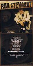 "Rod Stewart ""Every beat of my heart"" usine avec dix chansons! de 1986! nouveau CD!"