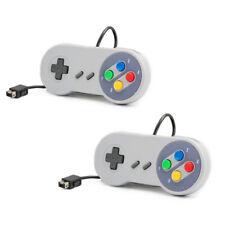 2x Wired Controller Console for Super Nintendo SNES Classic Mini Edition 2017