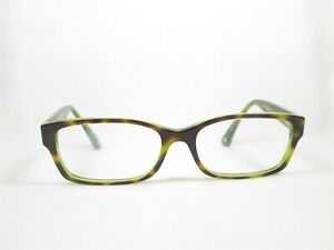 Coach HC6040(Brooklyn) 5117(Tortoise/Green) 52/16 135 Designer Eyeglass Frames