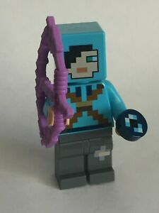 LEGO Dragon Slayer Minifigure - from (# 21151) (Minecraft)