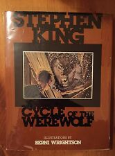 SIGNED Stephen King Cycle Of The Werewolf 1983 Limited Ed Bernie Wrightson