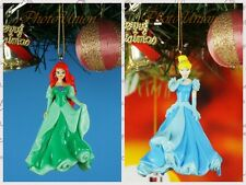 Decoration Ornament Xmas Decor Disney Mermaid Ariel Cinderella Glass Slipper JK