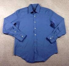 EUC Men's Banana Republic Steel Blue Long Sleeve Button Front Shirt-Size M