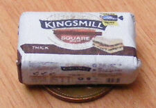 1:12 Scale Kingsmill Loaf Wrapper Tumdee Dolls House Kitchen Bread Accessory