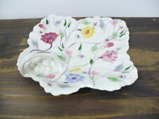 Blue Ridge Potteries Serving Dish with Floral & Handle beautiful design