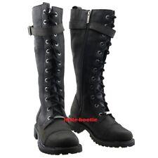 Harley-Davidson Boots Stiefel Leder schwarz Damen Gr 41   81489 Savannah SALE
