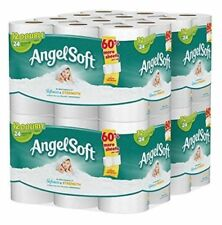 Angel Soft 2 Ply Toilet Paper 48 Double Bath Tissue Pack Of 4 With 12 Rolls