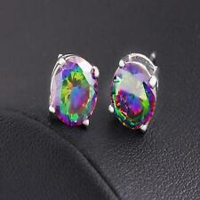 wholesale Fine Jewelry 925 Sterling silver Fashion Fine 6MM Earrings Fine gift
