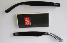 ASTE RICAMBIO RAY BAN 4165 JUSTIN NERO LUCIDO SIDE ARMS TEMPLES POLISHED BLACK