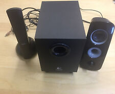 Logitech Speaker System Z323 w/ 30w Subwoofer for TV Music Videos Entertainment