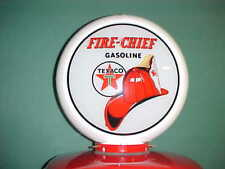 TEXACO FIRE CHIEF GAS PUMP GLOBE