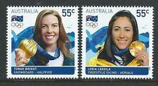 Timbres d'Australie et d'Océanie, sur les jeux olympiques
