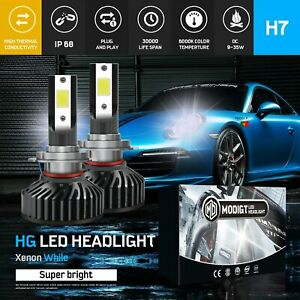 PHILIPS H7 980W 900000LM LED Headlight kit Driving High or Low Light Lamp Globes