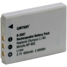 Watson LI-80B / NP-900 Lithium-Ion Battery Pack (3.7V, 650mAh)