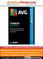 AVG TuneUp 2021 - 10 Devices - 1 Year [Download]