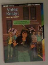 Le club des Baby Sitters  Votez Kristy