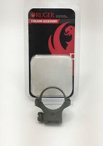 Ruger® 4K30HM 30mm SINGLE Steel MEDIUM Hawkeye M77 Scope Ring Matte Silver 90318