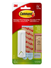 Command 17041-ES Hook Wire Backed Picture Hanging Hook - White