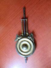 """Antique / Vintage  Kitchen, Parlor, Gingerbread Clock  Pendulum  6-1/2""""  (715A)"""