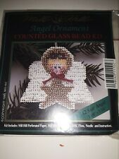 MILL HILL COUNTED GLASS BEAD ORNAMENT KIT - STAR ANGEL A2