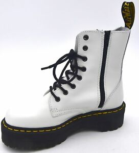 DR. MARTENS WOMAN MAN UNISEX ANKLE BOOTS BOOTIES CASUAL WITH WEDGE CODE JADON