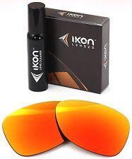 Polarized IKON Iridium Replacement Lenses For Oakley Dispatch 2 Fire Mirror