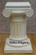 Säule Blumensäule Tisch Design Barock Säulen Antik Stuckgips Deko 1036 Crem
