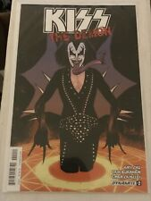KISS THE DEMON #2 KYLE STRAHM GENE SIMMONS MAIN COVER 2017 dynamite