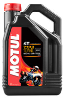 MOTUL 7100 SYNTHETIC OIL 10W-40 4-LI TER PART# 101371 / 104092
