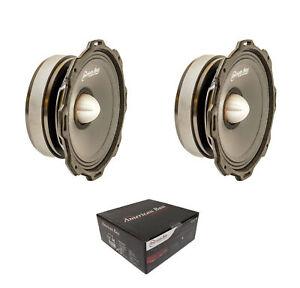 """Pair of American Bass 600 Watt 4 Ohm Godfather Series 6.5"""" Midrange GF-6.5 L-MR"""