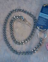Herm Sprenger Chrome Polished Link Chain Dog Collar with Toggle 3.0mm