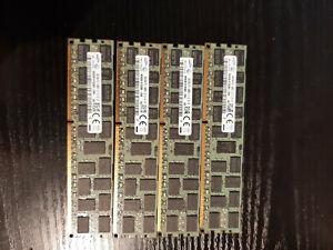 4 x Samsung 8GB DDR3 2Rx4 PC3-14900R registered ECC M393B1K70QB0-CMA