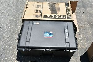 Pelican 1650 Case with Foam New