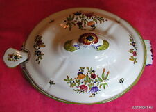 PV Italy Peasant Village OVAL COVERED TUREEN & LADDLE