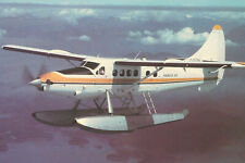 AK Airliner Postcard HARBOUR AIR DHC-3 Otter