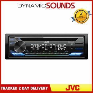 JVC Car Stereo Media Player DAB+ Radio CD Receiver with Amazon Alexa Spotify USB