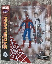 "New Disney Store Marvel Select Spectacular Spider-Man 7"" Action Figure Avengers"