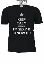 I'm Sexy & And I Know It Tumblr T-shirt Vest Tank Top Men Women Unisex 1235